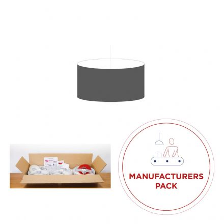 30cm Manufacturers Pack -  30 Oval Lampshades